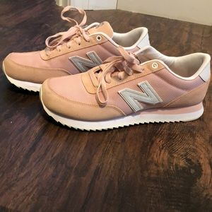 New Balance Dusty Pink Sneakers